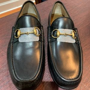 Men's Gucci loafers.